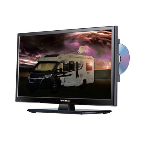 "Telesat 24"" Television with Built-in Satellite Receiver"