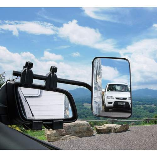 Camec Clip On Single Towing Mirror