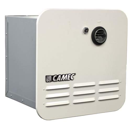 Camec Instantaneous Gas Water Heater - White