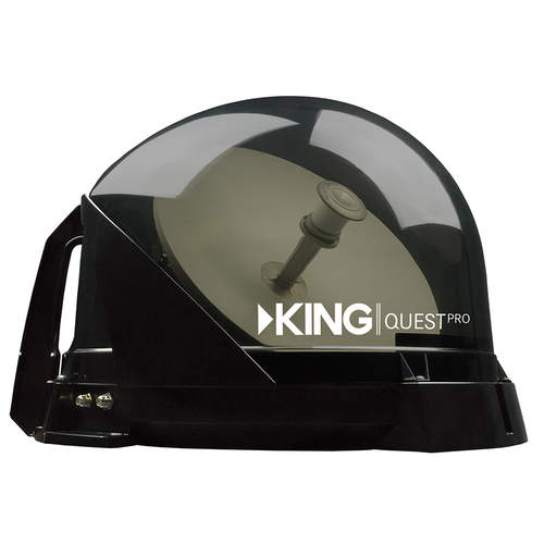 King Quest Pro Automatic Satellite Dish - Tinted