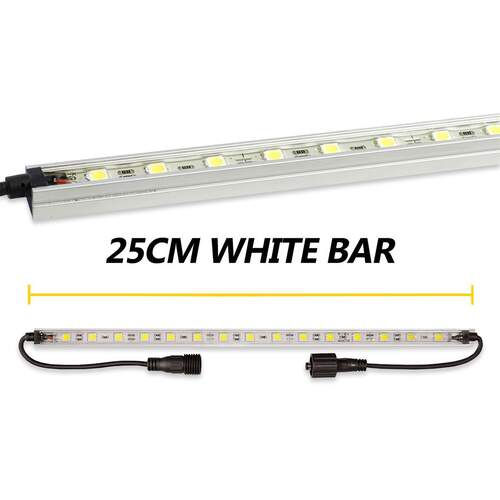 Korr Lighting White LED Light Bar - 25cm