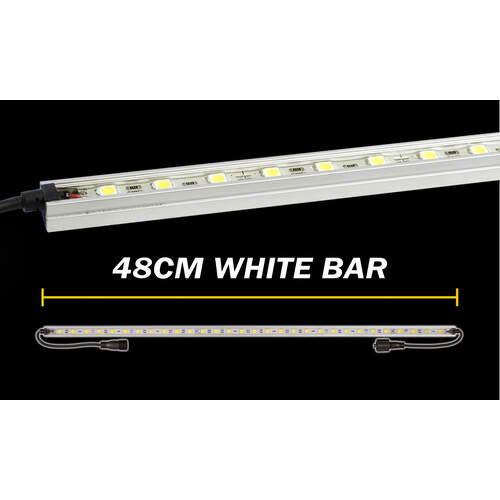 Korr Lighting White LED Light Bar - 48cm