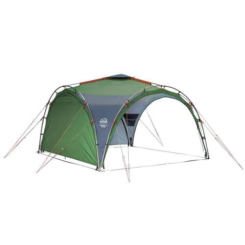 Kiwi Camping Savanna Shelter 3.5m with 2 Side Curtains