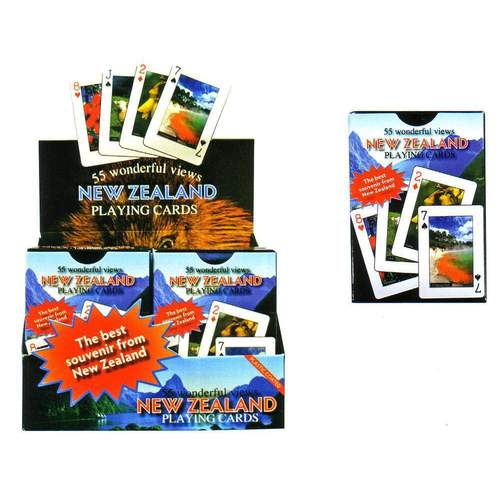Pro Kiwi Playing Cards - NZ Photographic Views