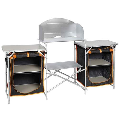 Kiwi Camping Quick Fold Kitchen and Cupboards