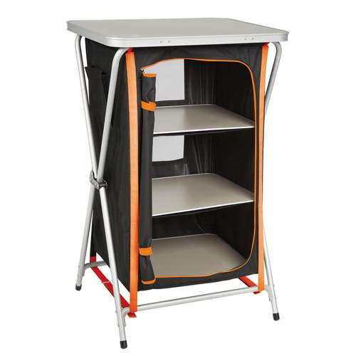 Kiwi Camping Quick Fold Pantry - 3 Tier