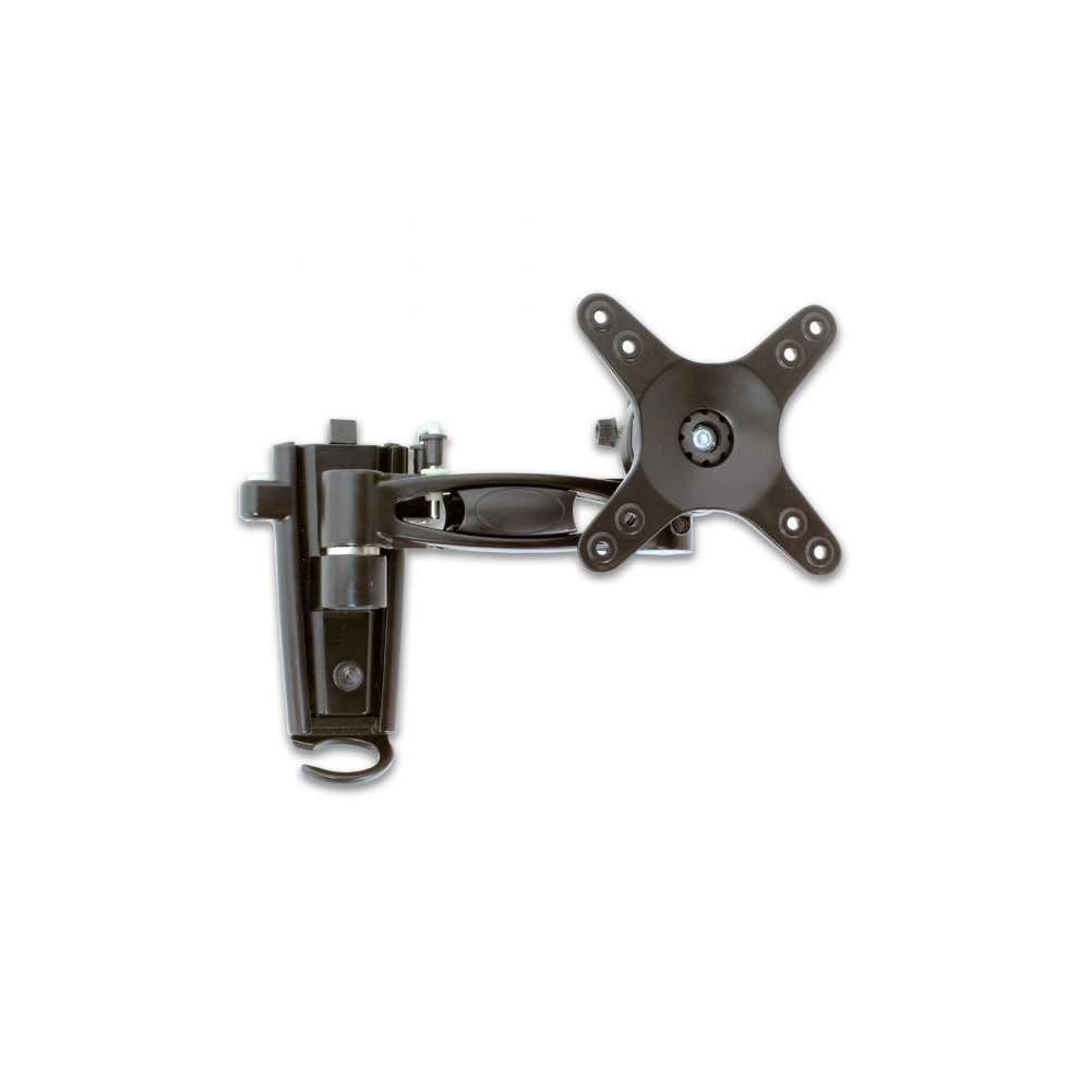Rv media lcd swivel 1 arm tv bracket for Motorized swing arm tv mount