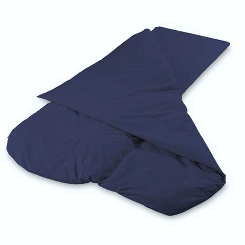 Duvalay Luxury Sleeping Bag - Navy 77cm