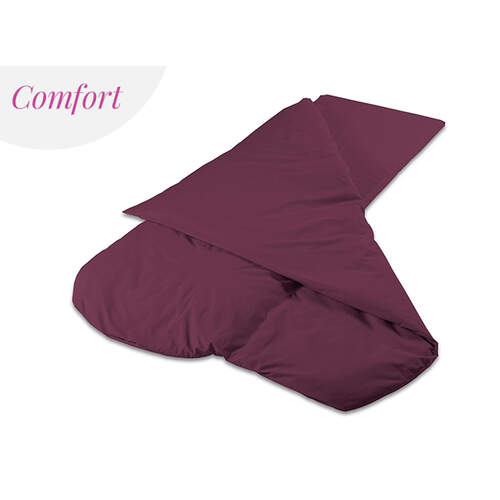 Duvalay Luxury Sleeping Bag - Plum 66cm