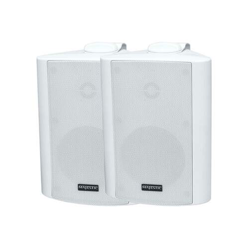 Majestic Marine Weatherproof Box Speaker - White