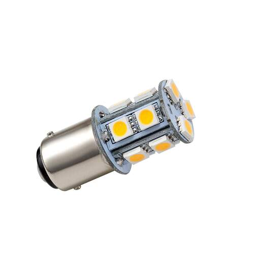 LED Bayonet Bulb Single Contact with 13LEDs - Warm White