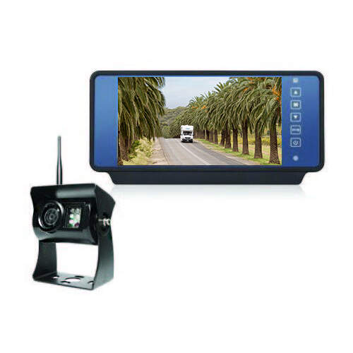 "Camec Wireless Reversing Camera System with 7"" Mirror Monitor"