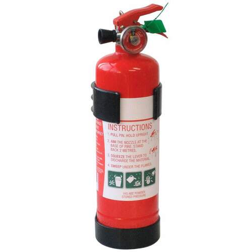 Orca Dry Powder Extinguisher Boat and Marine 1kg***