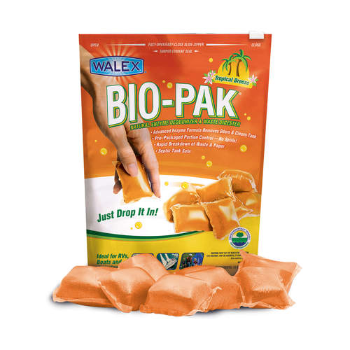 Walex Bio-Pak Express Toilet Chemical Tropical 15pk