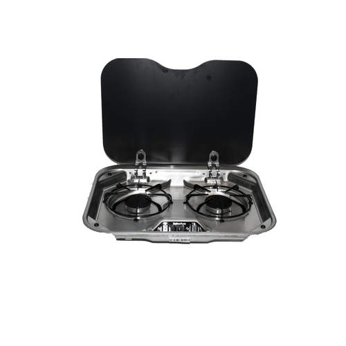 Suburban RV Gas Cooktop - 2 Burner