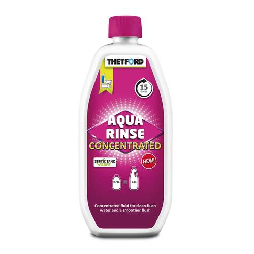 Thetford Aqua Rinse Pink Concentrated 750ml