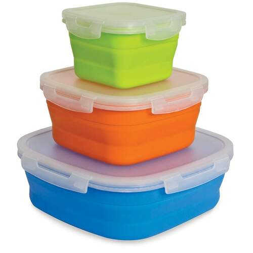 Companion Pop Up Food Containers - Large (3pk)