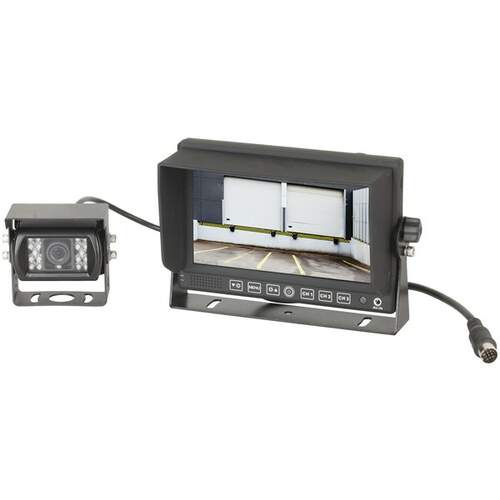 "Response Reversing Camera with 7"" Monitor 12/24V"
