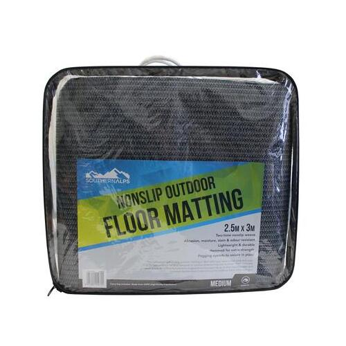 Southern Alps Outdoor Floor Matting 3.0 x 2.5m