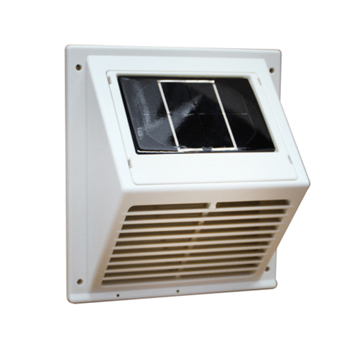 Solar Wall Vent with Fan