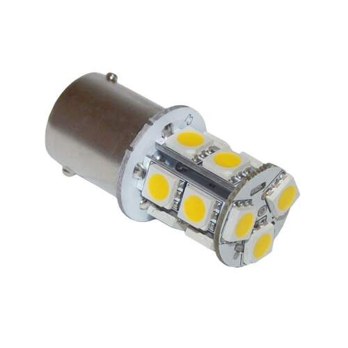 LED Bayonet Bulb Double Contact with 13LEDs - Warm White