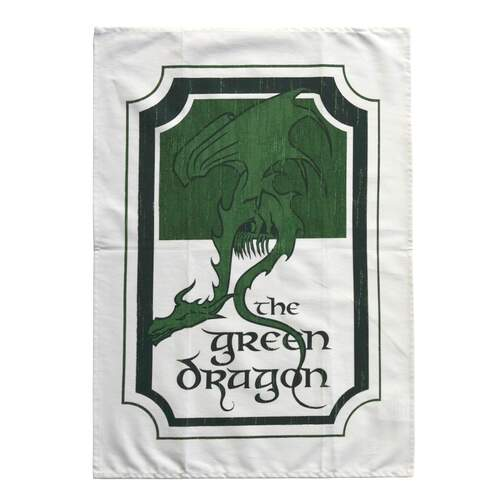 Lord of the Rings Tea Towel The Green Dragon