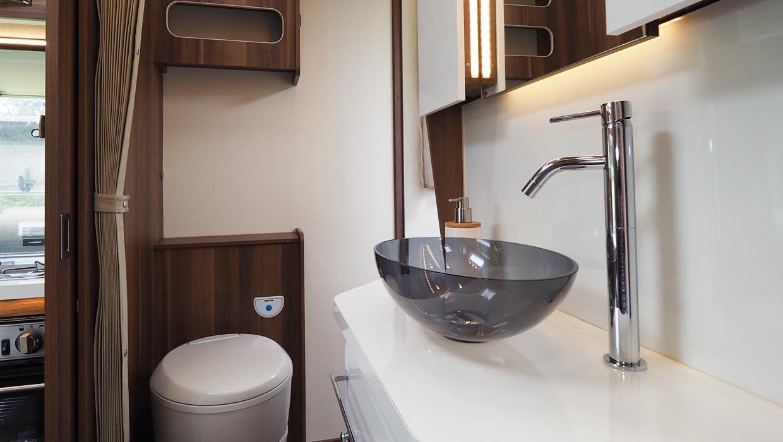 motorhome bathroom types